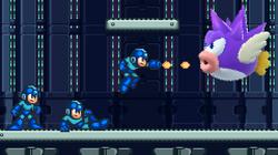 Mega Man Bass Hunting