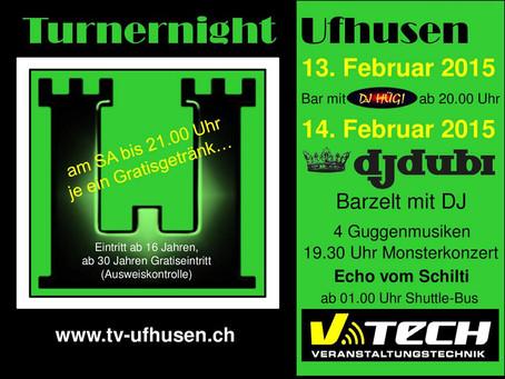 Fasnacht 2015 - Turnernight, Ufhusen / 14.02.2015