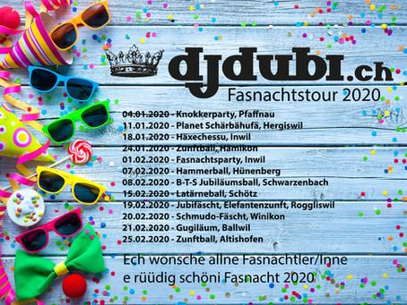 Fasnacht 2020 - DJ Dubi on Tour