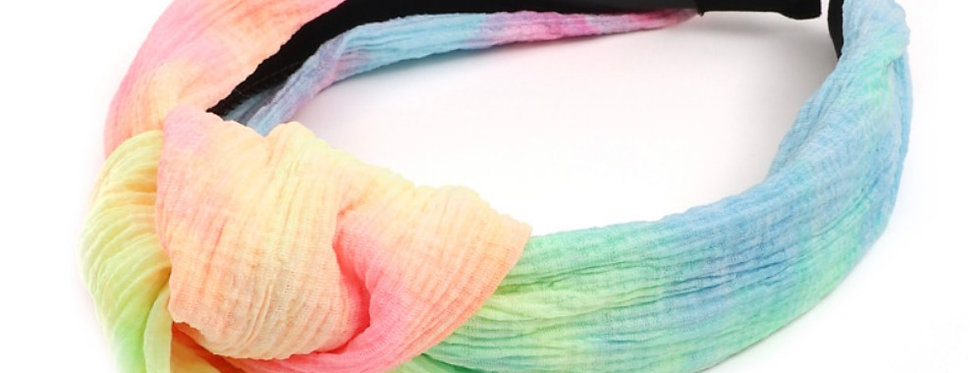 """I """"DYE"""" FOR THIS- knotted tie-dye headband"""