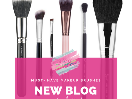 BRUSHES YOU NEED IN YOUR MAKEUP BAG...RIGHT NOW!
