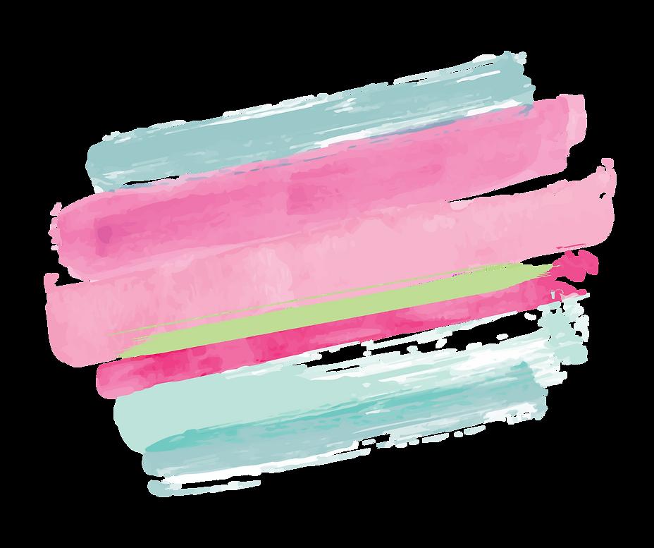 Watercolor Stripes Branded Colors Transp