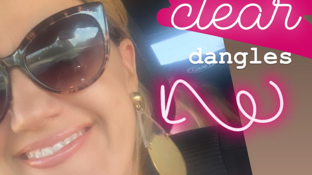 BE CLEAR dangles