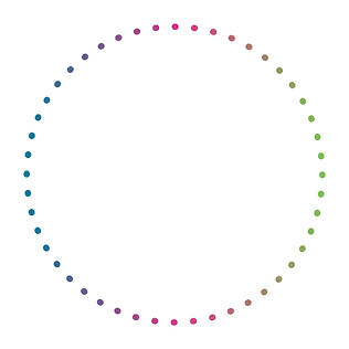 alternate circle dots - transparent back