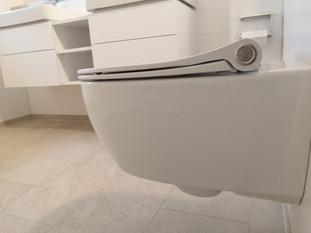 Hygienisches Dusch-WC