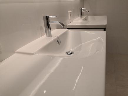 Glatte Oberflächen erleichtern die Reinigung