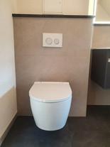 WC mit besonders leiser Spülung