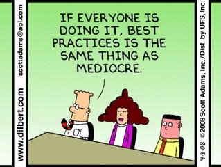 Avoid Tolerating Mediocrity