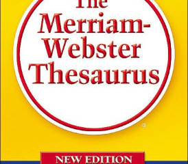 Alright, So You've Got a Thesaurus