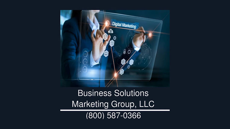 Business Solutions Marketing Group Services
