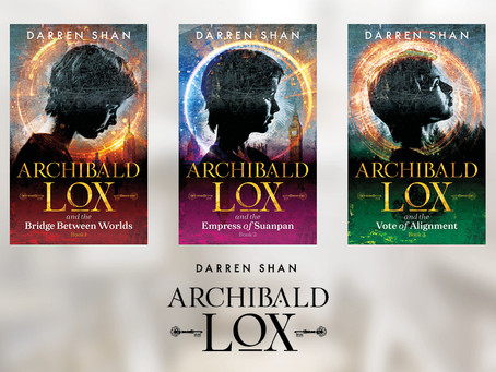 Darren Shan and Archibald Lox