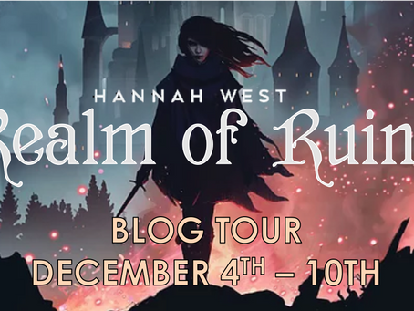 Realm of Ruins by Hannah West Blog Tour Review and Giveaway