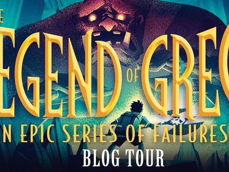 Blog Tour-The Legend of Greg