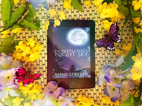 The Moon Faerie's Night Sky   by Anne Stryker