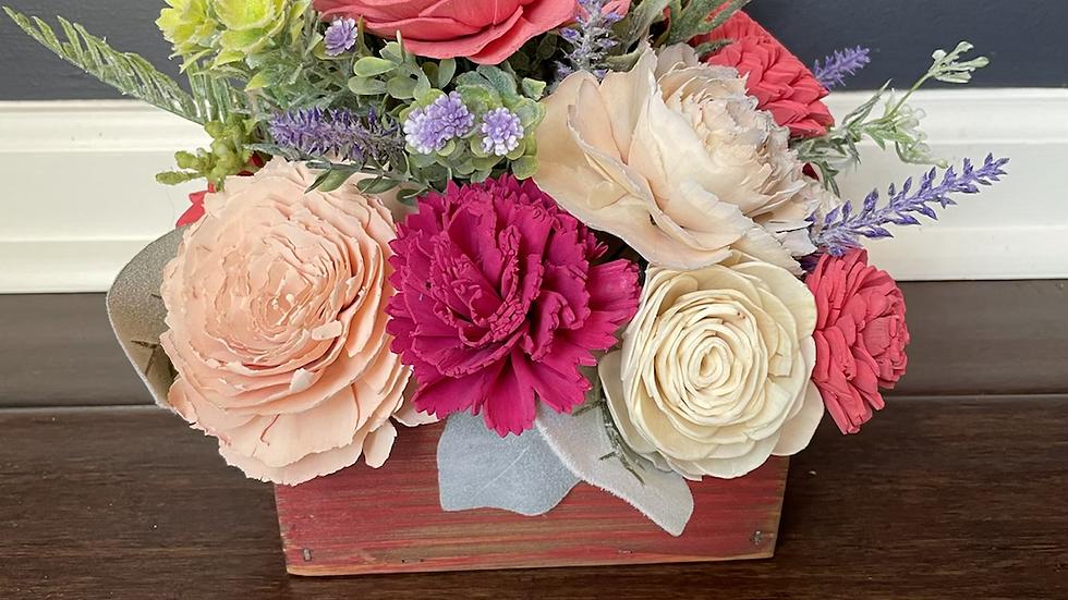 Pink Spring Box