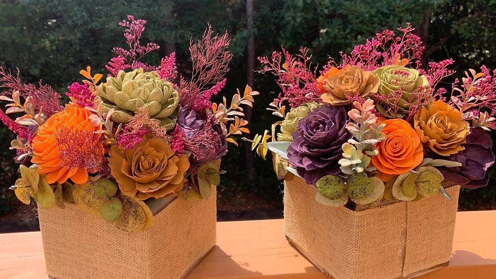Fall Wood Flowers A