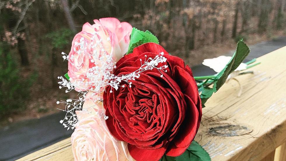 Roses in Trio