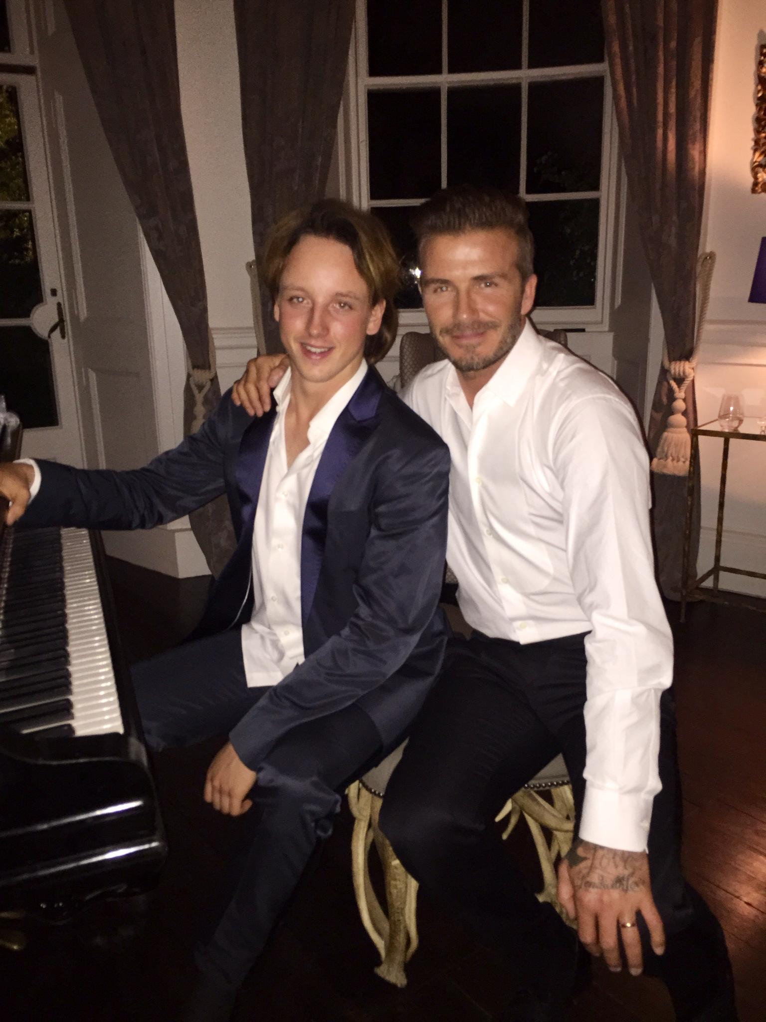 Oliver Poole & David Beckham