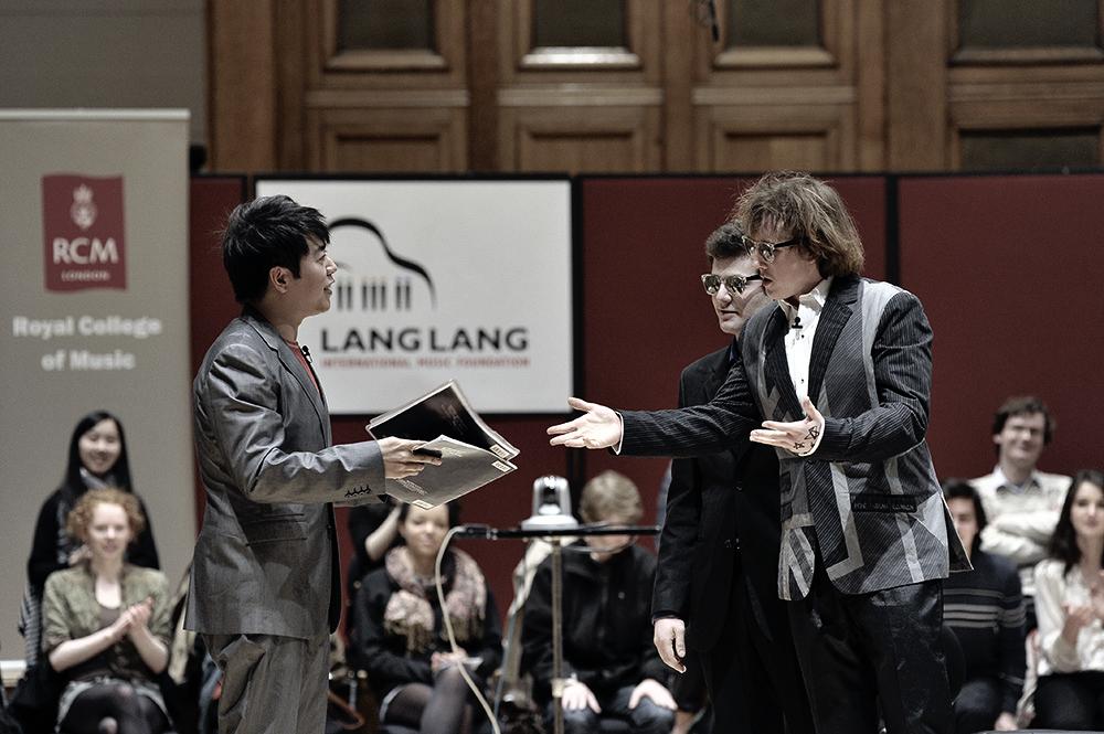 Oliver Poole & Lang Lang