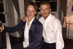 Oliver & David Beckham for Haig Club