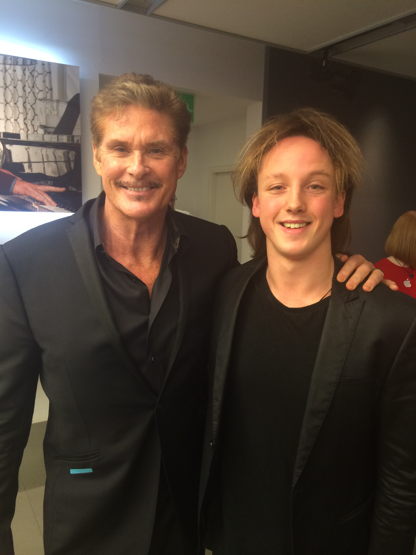 Oliver Poole & David Hasselhoff