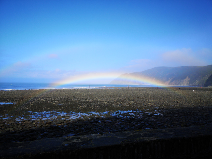 Rainbow in Devon