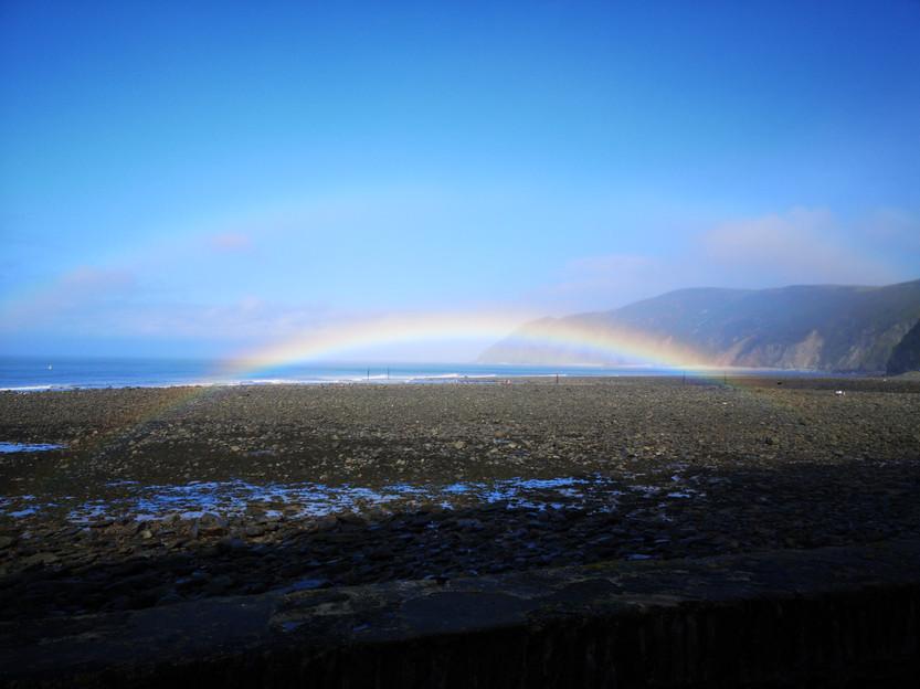 Rainbow in Devon