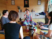Meditation discussion group
