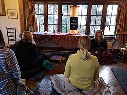 Meditation retreat in Cornwall
