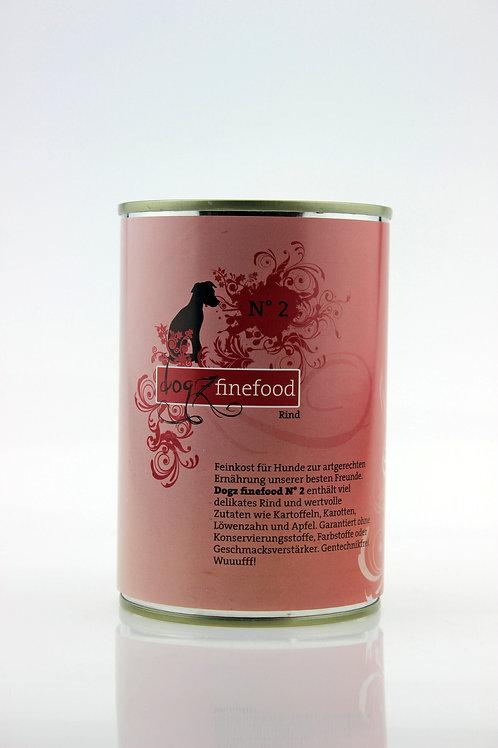 Dogz Finefood N°2 Rind