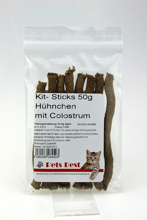 Pets Best Kit-Sticks Huhn mit Colostrum 50g