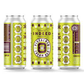 Indeed Brewing Company Launches Pistachio Cream Ale Into Multi-State Distribution