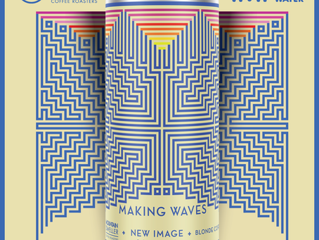 Making Waves with Mountain Dweller Coffee and Waves 4 water