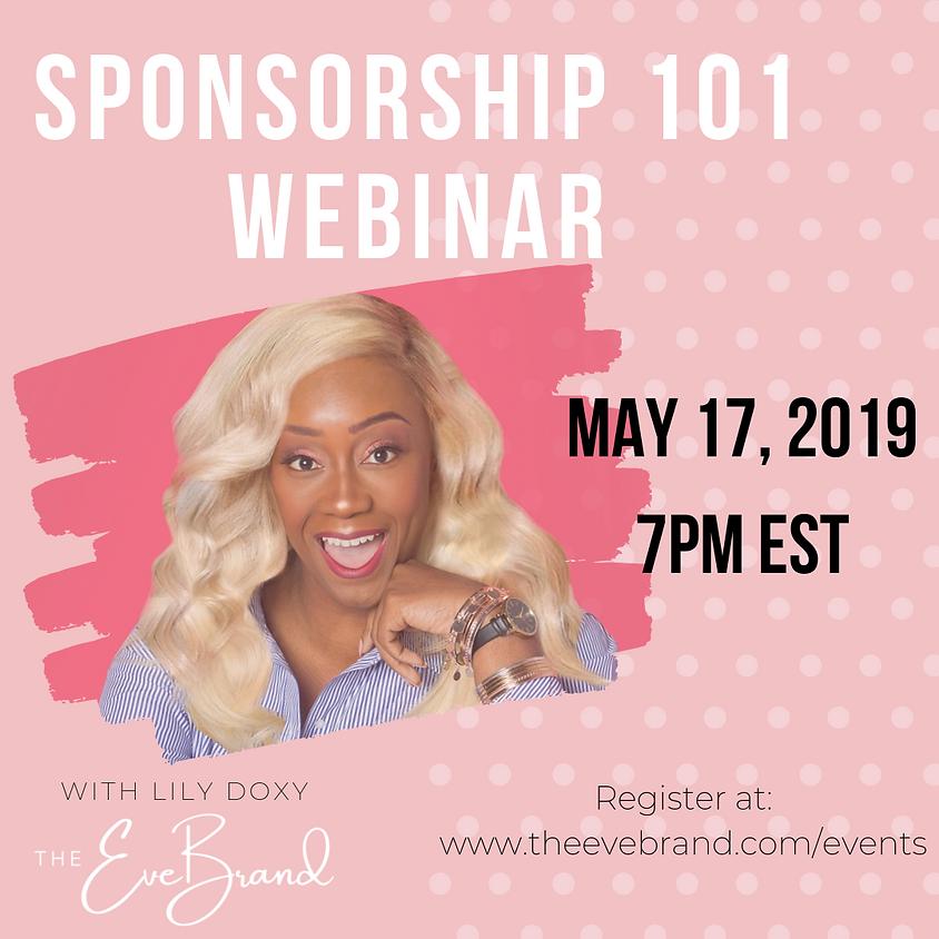 Sponsorship 101 Webinar