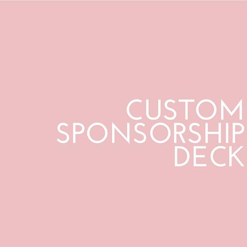 Custom Sponsorship Deck