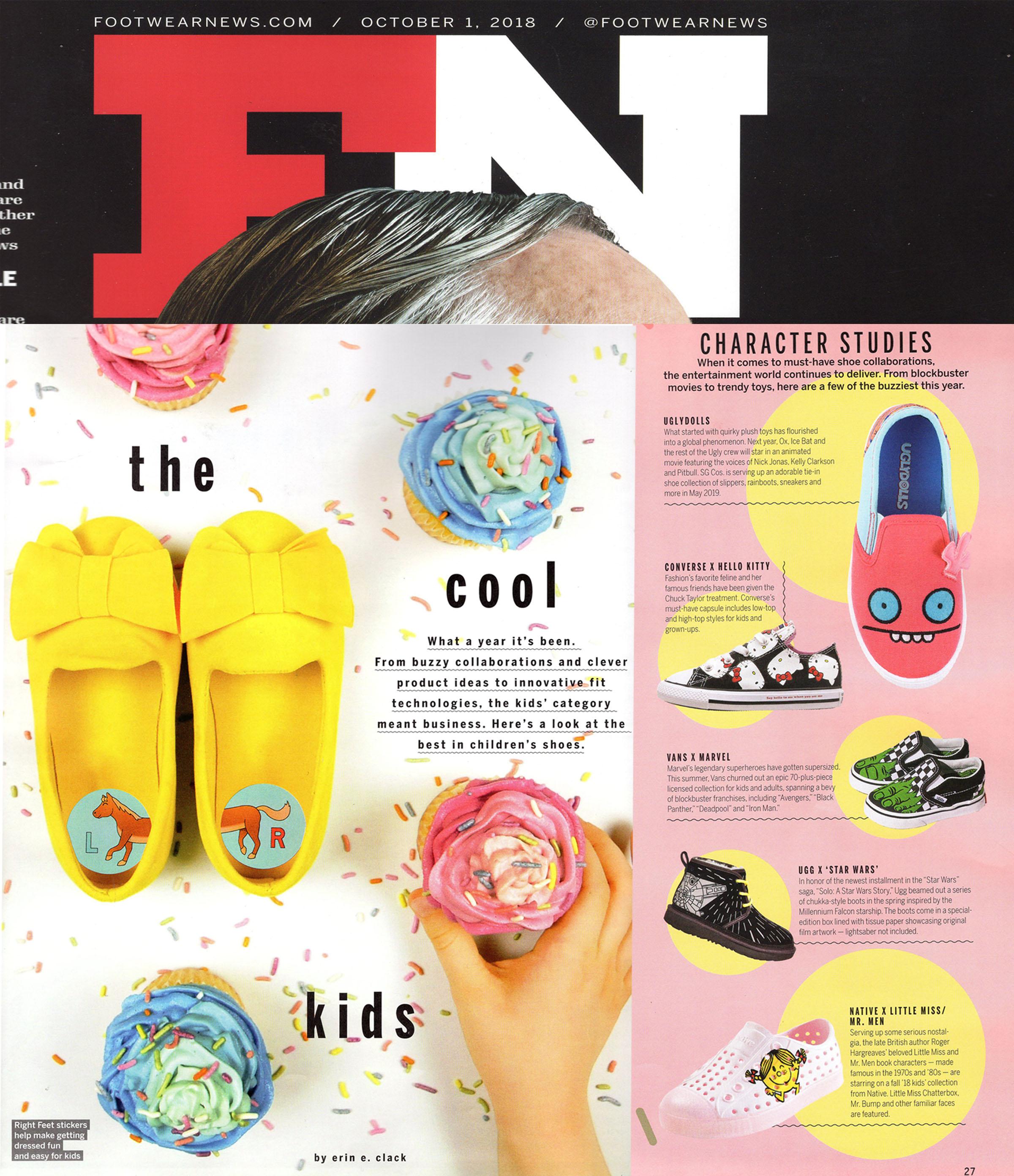 Footwear News - October 1 - Hello Kitty