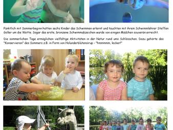 Sommerspaß im Kindergarten