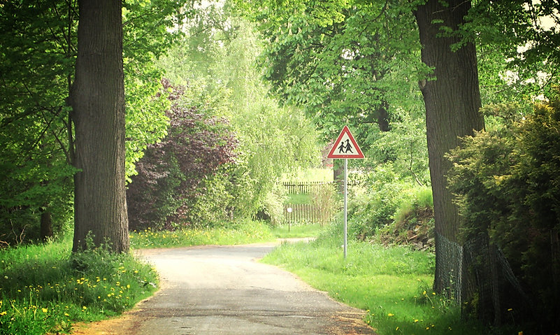 Teichweg zum Schlößchen, Amtsberg