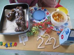Zahlenfrühstück