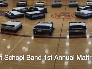 SHS Band Boosters Mattress Fundraiser
