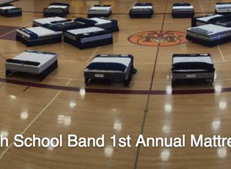SHS Band Boosters Mattress Fundraiser