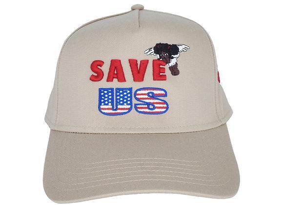 Save-US Angel Hat Khaki
