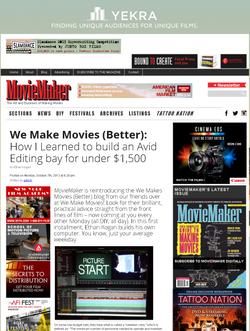 MovieMaker Mag - How I Built an Avid