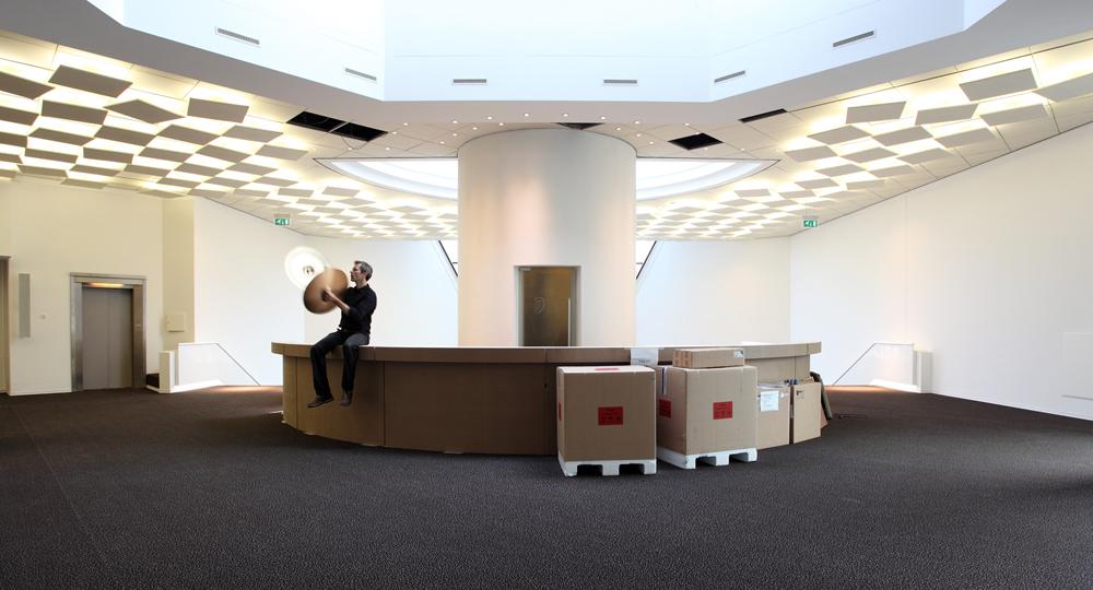 'Landschap vol verwachting' (bekkens) voor muziekgebouw Eindhoven