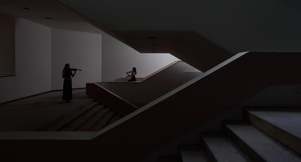 'Landschap vol verwachting' (viool) voor muziekgebouw Eindhoven