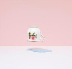 'Kopje' (roze), 100 x 105 cm