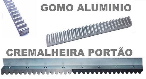 Gomo de Alumínio Maciço 50cm Cremalheira Residencial