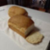 Oversized loaves of buttermilk bread.  Y