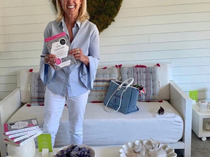 Sharron Invited for Book Signings at Daylesford Farm Spa
