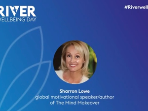 Sharron is Guest Speaker For The River Group Well-Being Day